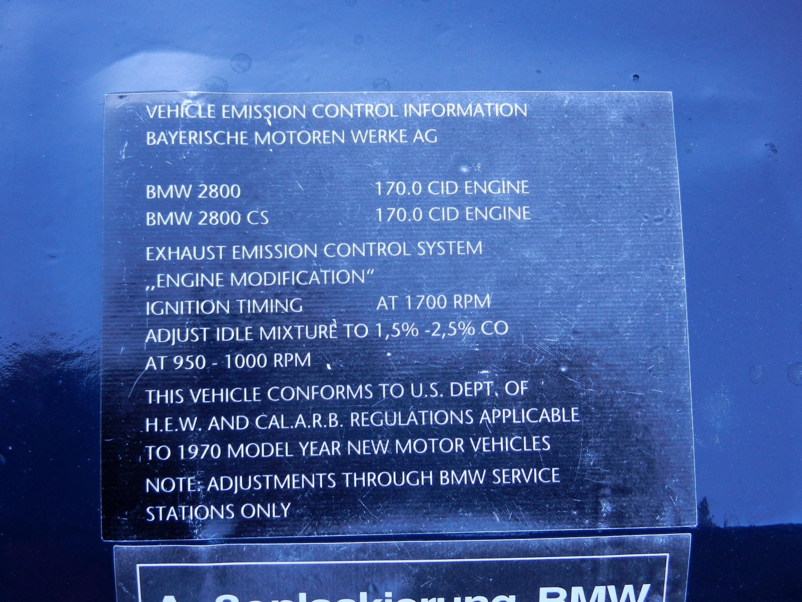 1970 2800CS EPA CARB.JPG