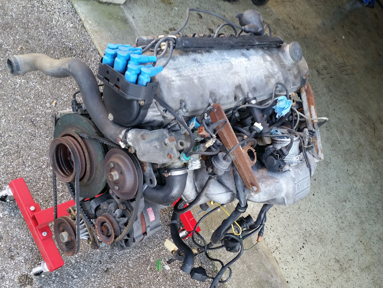 M30 B34 Complete with Harness, Motronic, MAF and Airbox   BMW E9