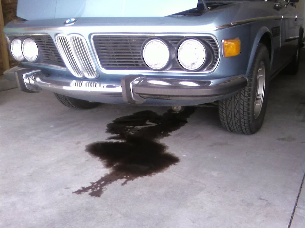 Transmission Fluid Leak >> Transmission Fluid Leak Bmw E9 Coupe Discussion Forum