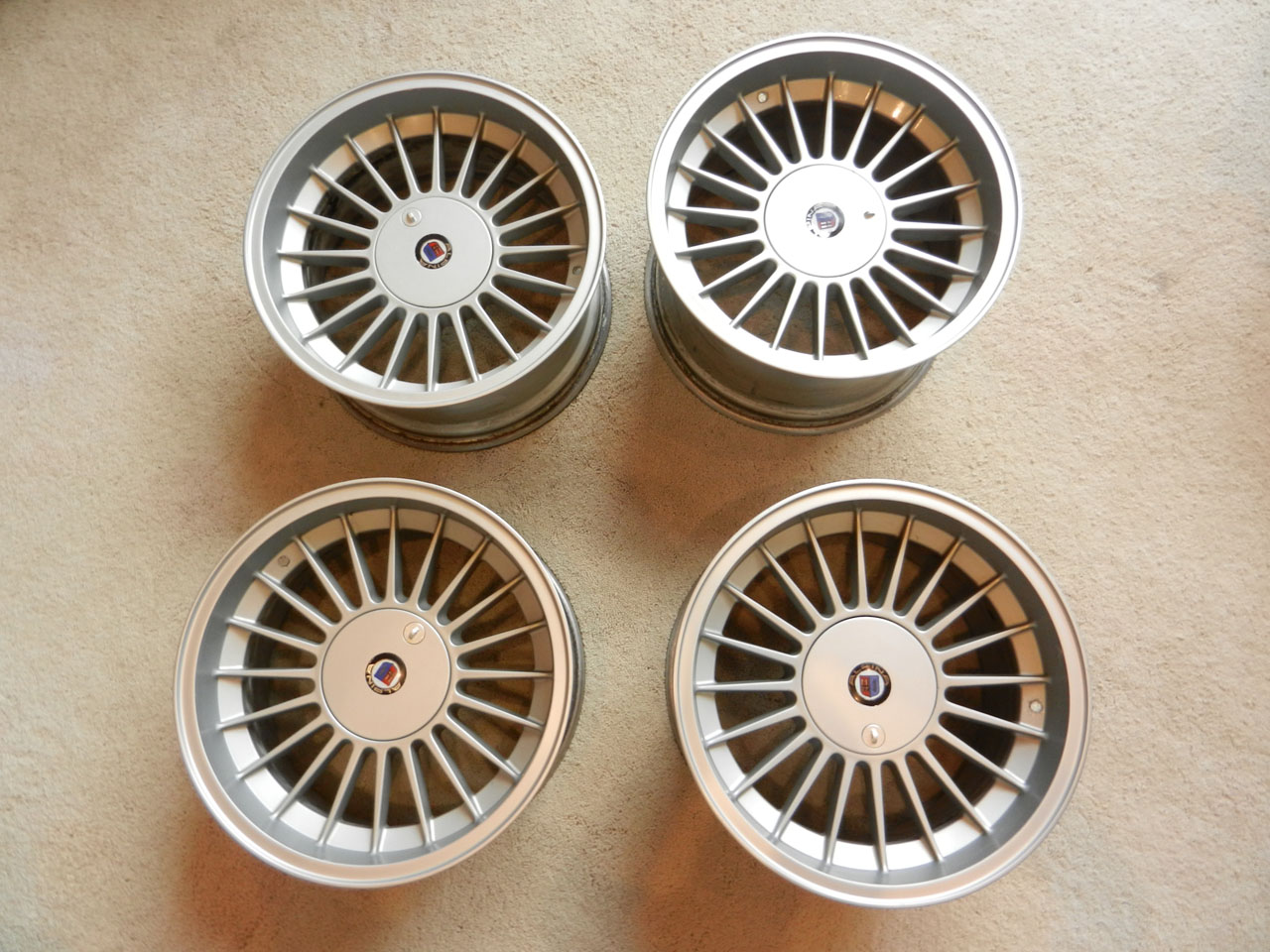 For Sale Inch Staggered Alpina Wheels And - Bmw alpina rims for sale