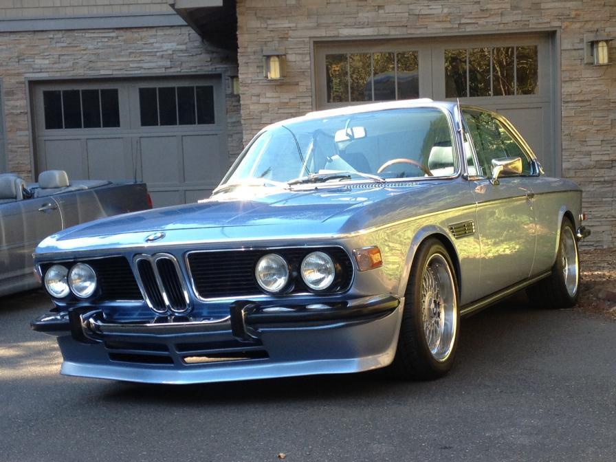 BMW 6 E9 CSL LOOK FRONT BUMPER LIP SPOILER