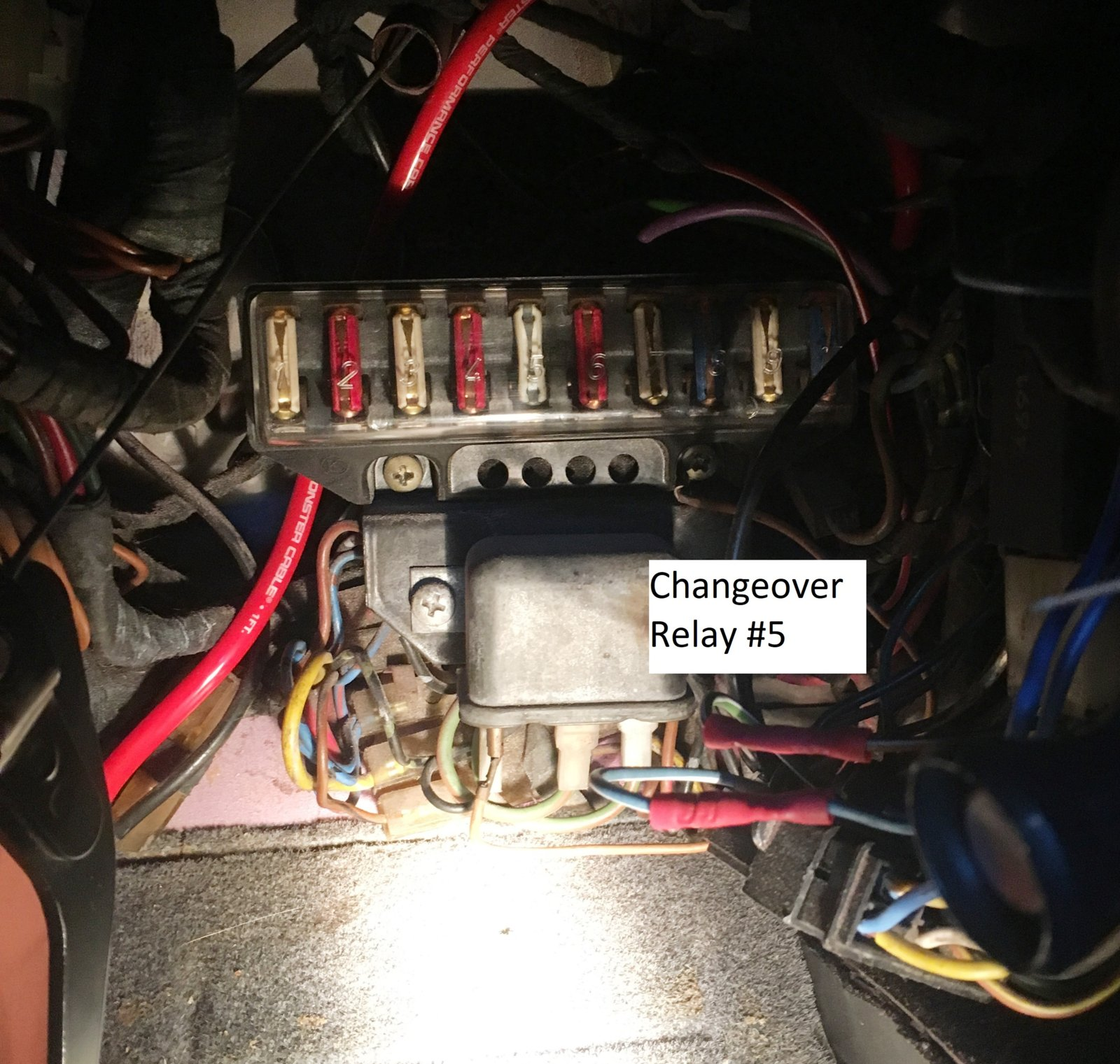 Help Identifying Relay Bmw E9 Coupe Discussion Forum Power Changeover 5