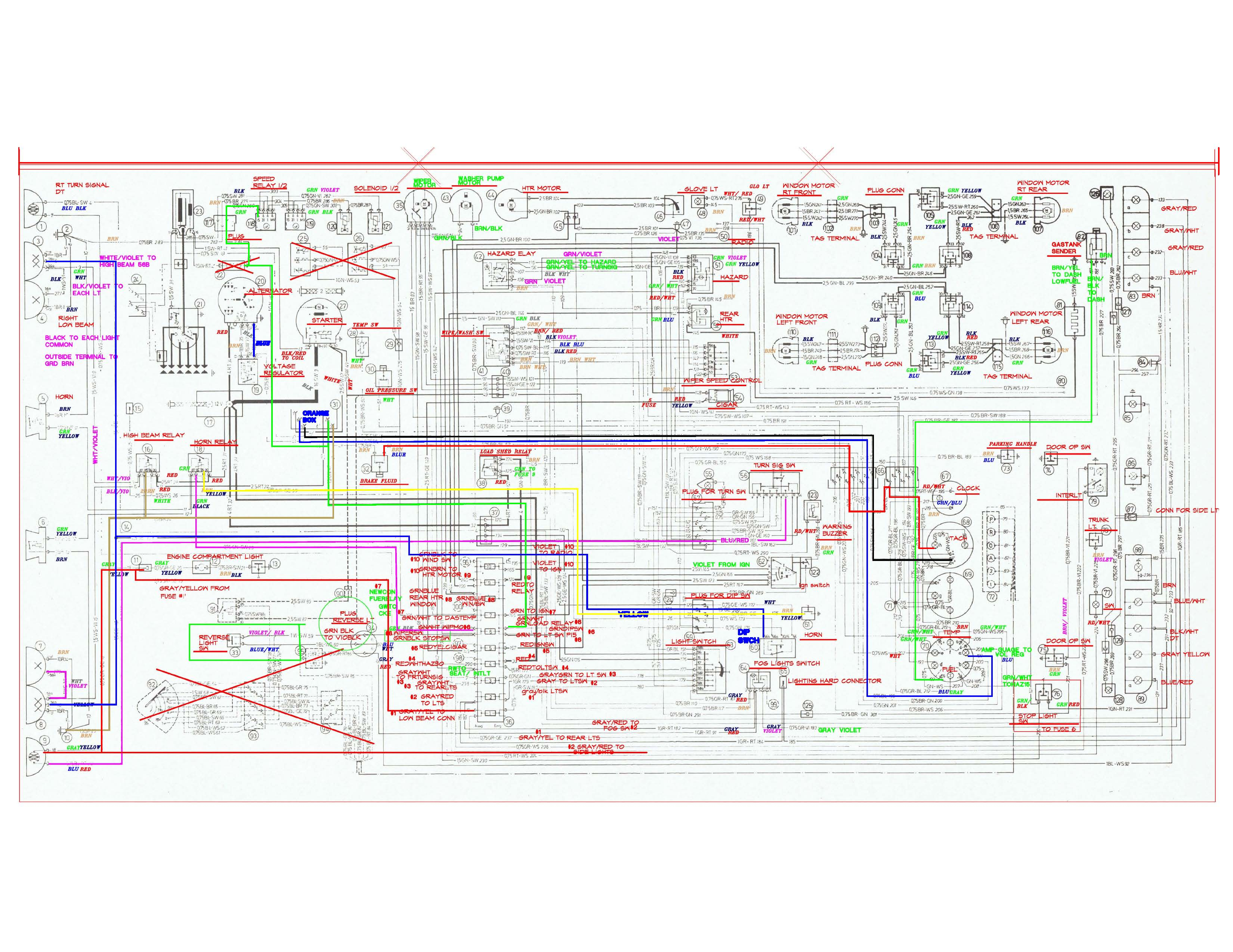 where to get the best wiring diagram? | BMW E9 Coupe Discussion Forum