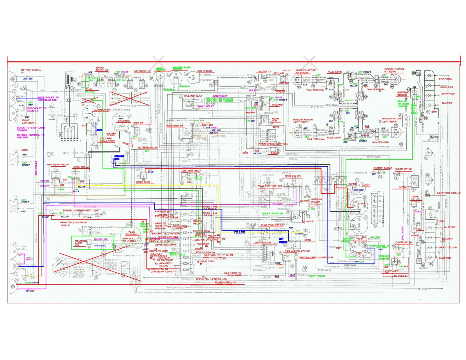 Wiring Diagram In English Bmw E9 Coupe Discussion Forum Wiring-Diagram BMW  2002 E10 E9 Bmw Wiring Diagrams